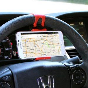 گیره موبایل روی فرمان خودرو